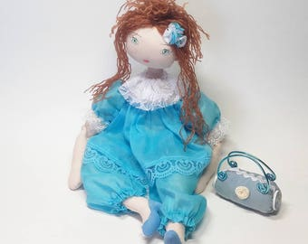 Rag doll sewing pattern - PDF - Instand download - Number 38