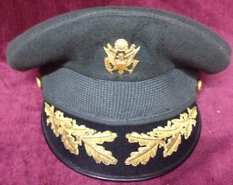 Vintage Military Officers' Dress Hat