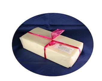 Turkish Mocha Soap Loaf One Pound Shea Butter Goatmilk Mango Butter Coconut Oil by Toadstool Soaps
