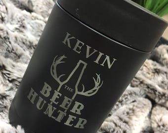 Stainless Steel Engraved Mug - Beverage Holder - Lots of Designs - Better than Yeti