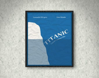 Titanic Movie Poster Print, Home Decor, Print Art Poster