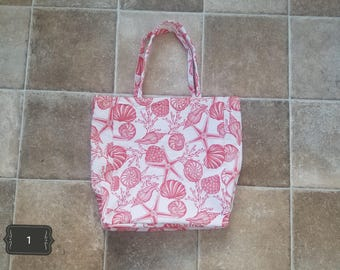 reusable fabric grocery sack, tote bag
