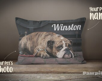 Pet Memorial, Dog Pillow, Custom Pet Pillow, Custom Dog Pillow, Pet Loss Gift, Pet Pillow, Photo Pillow, Custom Pet Memorial, Pet Keepsake