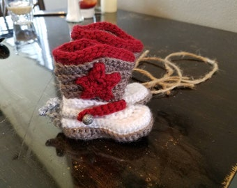 Get your little cowboy their own pair of cowboy booties