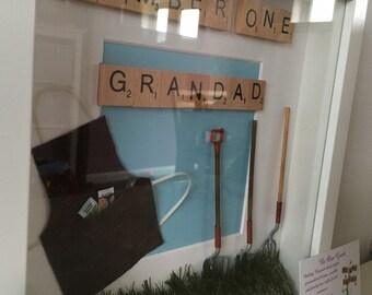 Personalised garden gardening frame Mothers Day