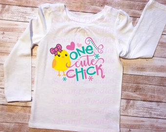 One Cute Chick Graphic T-shirt
