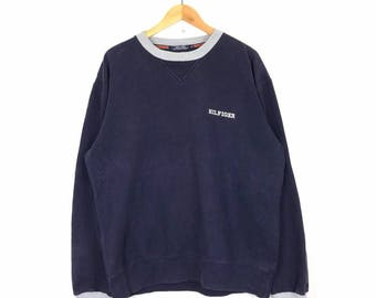 Rare!! Vintage Tommy Hilfiger Sweatshirt Size M