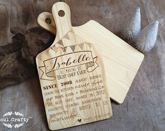 Chef  Wall Hanging Decoration Personalized birthday chef party mother's day Wall hanging decor signage decorations
