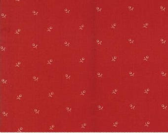 Ann's Arbor Red Tonal Bud 14845 11 by Minick & Simpson for Moda