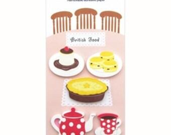 Sticky Notes / Memo Sticker - British Food
