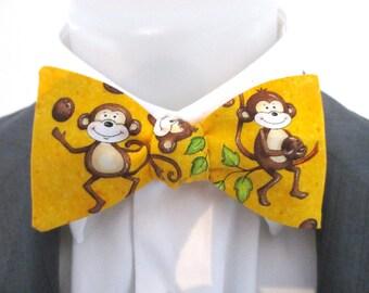 Bowtie - cheeky monkey - novelty - fun bowtie