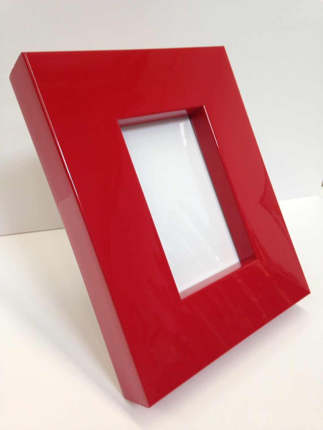 Thick red lacquer picture frame 3x5 4x6 5x7 8x10 11x14 zoom jeuxipadfo Images