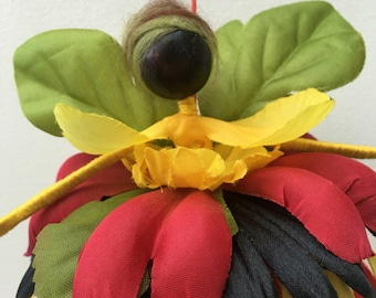 Kwanzaa Doll Flower Fairy
