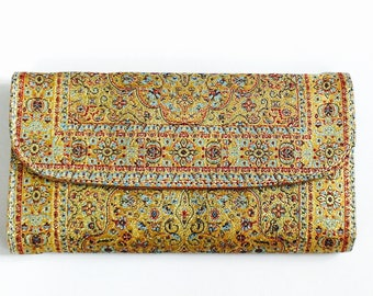 Vegan purse, Hippie Purse, Gypsy Purse, Ethnic Purse, Unique Purse, Long Purse, Boho clutch, boho purse, women purse, women's purse