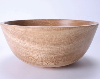 """Sycamore Wooden Salad Bowl #1474 11"""" X 4 3/4"""""""