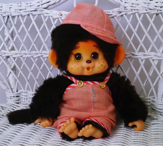 Adorable Japanese Monchhichi Monchichi Toho 18cm - 7,1