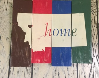 Montana Home Sign