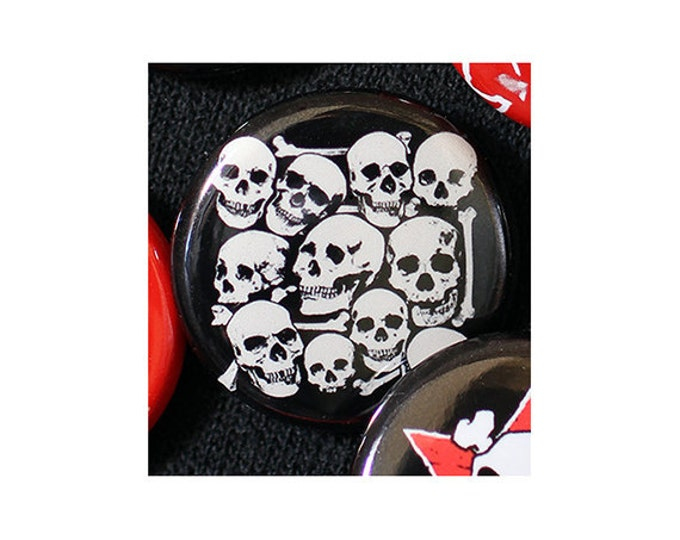 I Want Your Skull 1 Inch (2.54 cm) Button