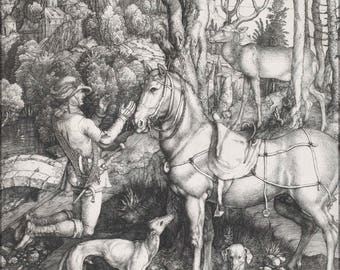 Poster, Many Sizes Available; Albrecht Durer Saint Eustace