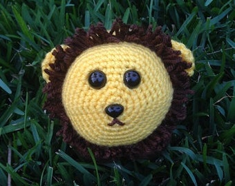 Lion Crochet Pattern - Lion Amigurumi Pattern - Lion Beginner Crochet Plush - Digital PDF lion crochet pattern