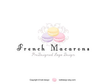 SALE French Macaron - PreDesigned Logo Design