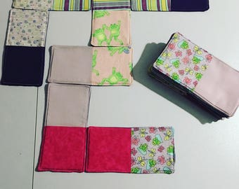 "Fabric Dominoes 4x8"""