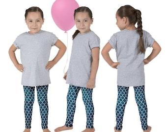 Girls Mermaid Pants, Mermaid Birthday, The Little Mermaid, Ariel Leggings, Mermaid Scale Pants, Fish Scale Leggings, Mermaid Daughter