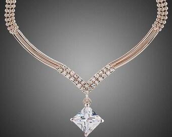 Elegant Party Wear Jewelry Necklace