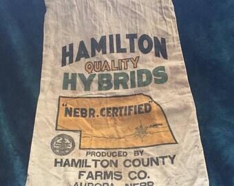 1960's Feed Sack- Aurora, NE