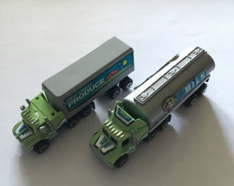Micro Machines vintage rare lorry/truck lot