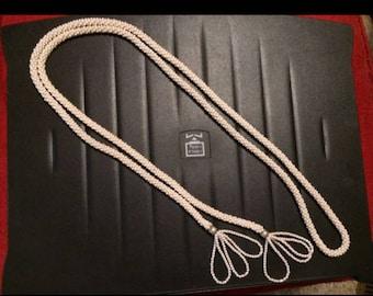Ladies 1920s Beaded Rope Belt