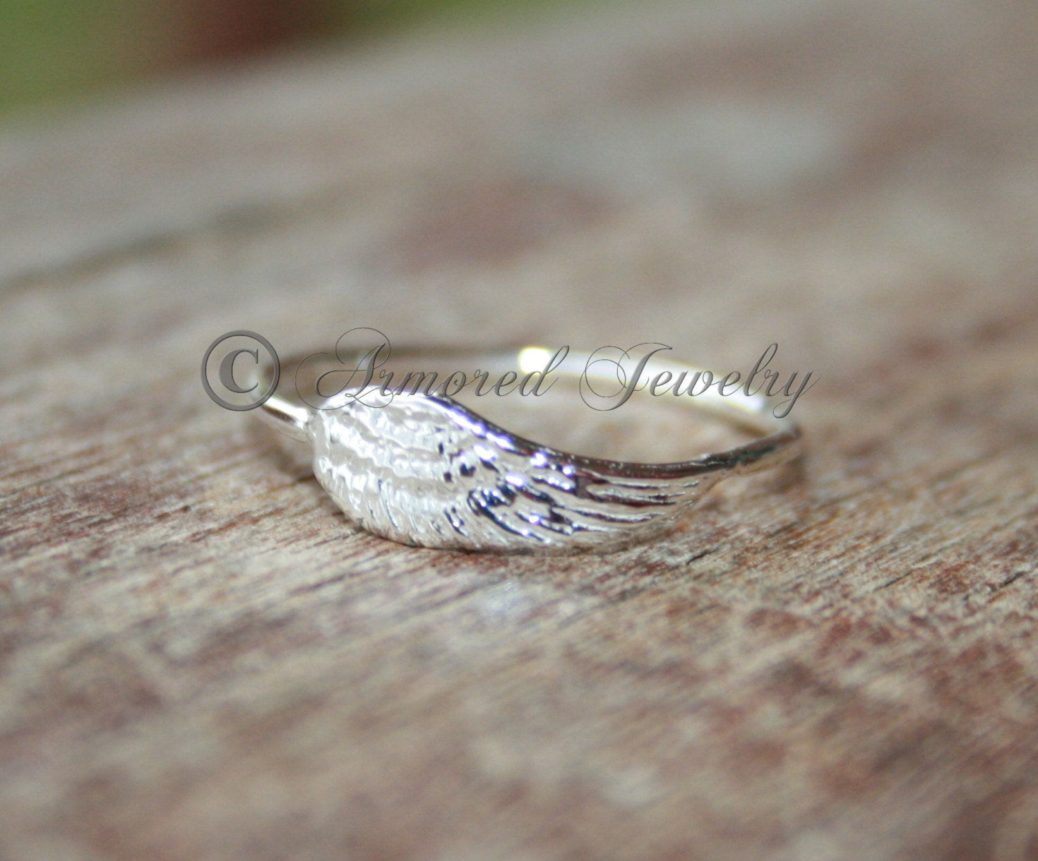 simple angels fullxfull rings sterling wing il zoom dainty ring au listing angel silver