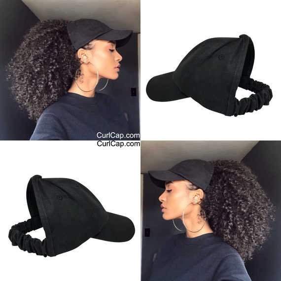 Natural Hair Hats, Black dad hat, Protective Styles Hats, Satin Lined Baseball Cap , Afro Hair Care, Kinky Curly Hair