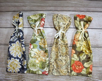 Wine Bags, Wine Gift Bags, Floral