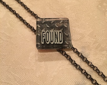 Not Just Words Necklace 'Found'