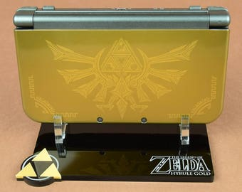 The Legend of Zelda: Tri Force Heros Hyrule Edition Nintendo New 3DS XL Display Stand