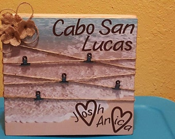 12X12 Picture Board ~ Great for honeymoons, Weddings, Baby Showers (Personalize it anyway you would)