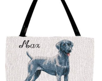 Weimaraner Personalized Tote Bag with Your Pet's Name