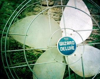 Vintage Wizard Deluxe Electric Fan - Non-Working