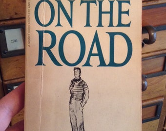 On The Road by Jack Kerouac vintage paperback book, Signet, Classic Book, Collectible Book, Road trip book, Beat Generation, Gift