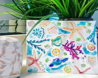 Under the Ocean Print
