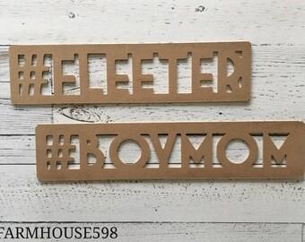 boxed hashtag typeset