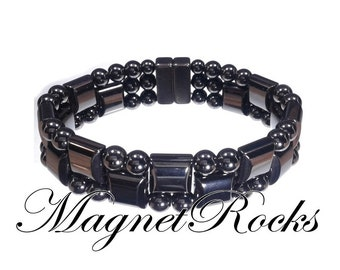Triple Threat Collection Magnetic Hematite Bracelet