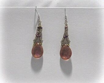 Purple Dreams Dangle Earrings