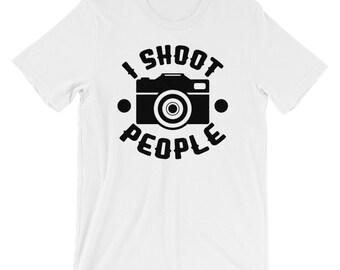 I Shoot People Funny Photo Tee
