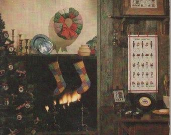 ON SALE ON Sale - Seasoning with Cross Stitch Crafting Magazine Vintage 1970s