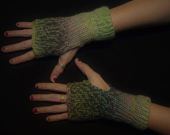 Garden-Esque Arm Shyne - Fingerless Arm Warmers - Fingerless Gloves