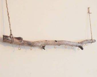 Wooden Jewelry Holder, Branch Jewelry Organizer, Wooden Jewelry Tree, Jewelry Stand, Natural Branch Jewelry, Eco Decor, Gift for her