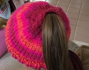 Ponytail/Messy Bun Hat