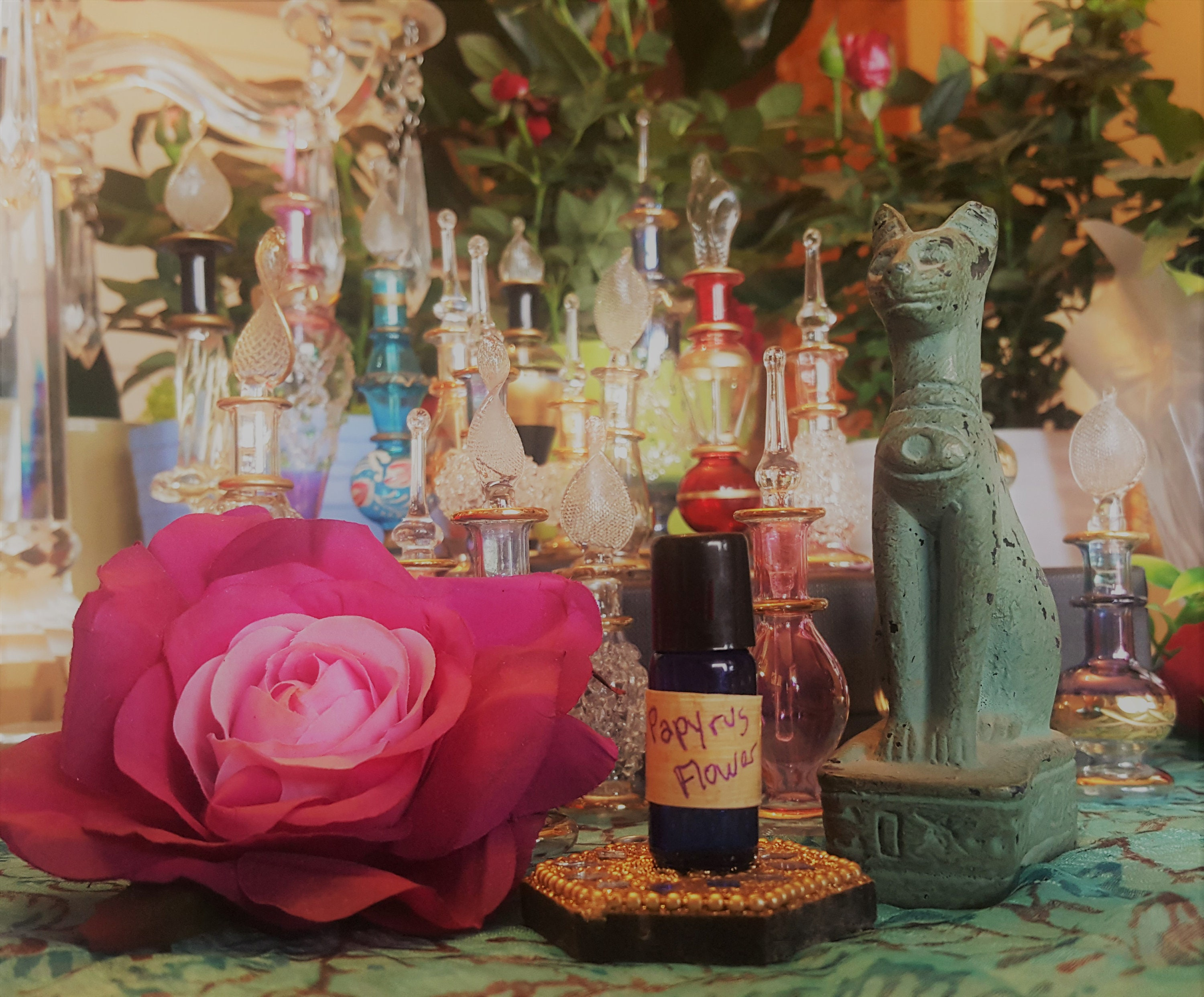 Essence Of Egyptian Papyrus Flower Essential Oil